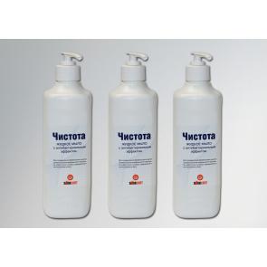 инструкция мыла антибактериального чистота
