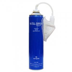 Баллончик кислородный KISLOROD K12L-M Prana - 12 литров с мягкой маской