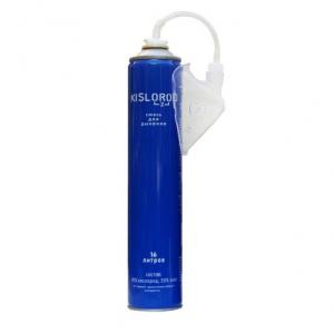 Баллончик кислородный KISLOROD K16L-M Prana - 16 литров с мягкой маской