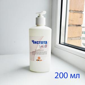 Антибактериальное жидкое мыло ЧИСТОТА, Baby, 200мл