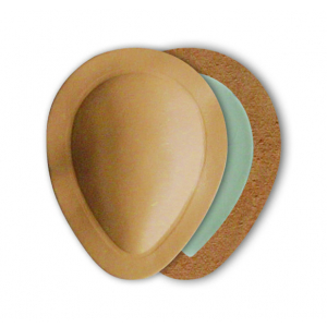 Вкладыш из телячьей кожи в форме капли для поддержки поперечного свода стопы FIT DROP PAD (арт. 607-00)