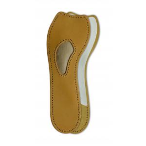 Полустелька из овечьей кожи для обуви на высоком каблуке для поддержки поперечного свода стопы EXCLUSIV (арт. 621-00)