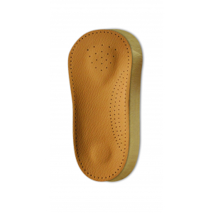 Полустелька-супинатор из овечьей кожи для поддержки  продольного и поперечного сводов стопы и пятки NOVA (арт. 676-00)