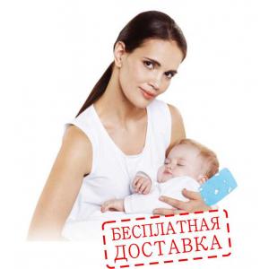 Ортопедическая подушка для кормления грудью детей от 0+ месяцев NANNY (арт П29)